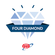 AAA 4 Diamond Badge
